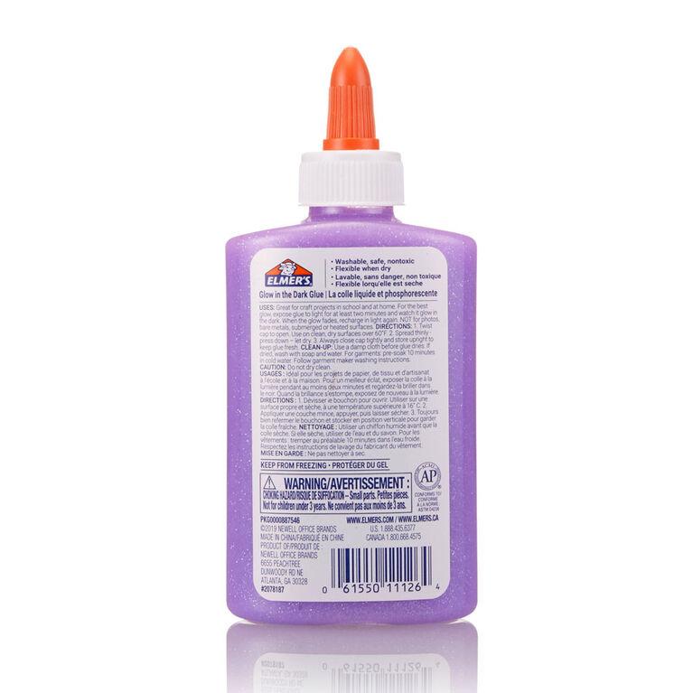 Colle phosphorescente d'Elmers, violet