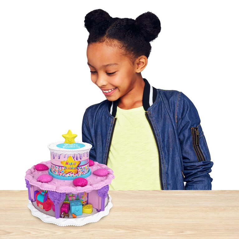 Polly Pocket Birthday Cake Countdown Set