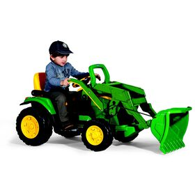 Peg Perego - Le tracteur Ground Loader John Deere