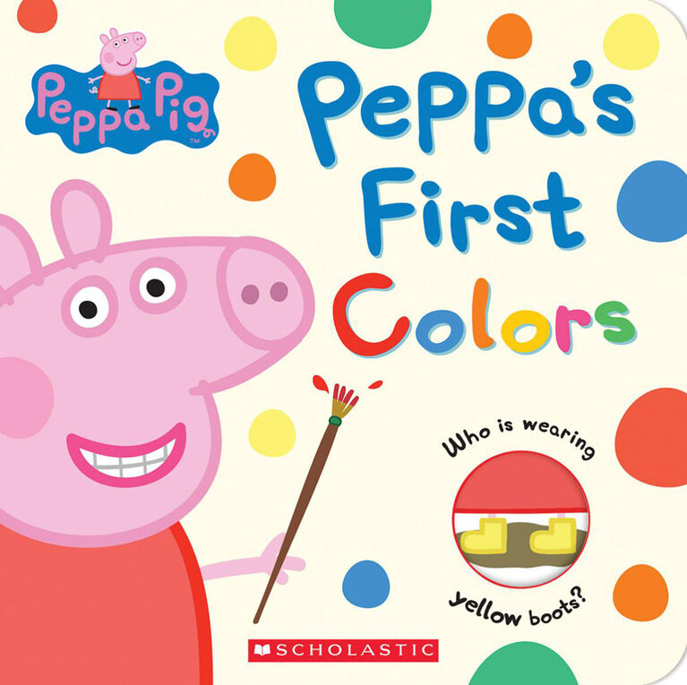 Peppa's First Colours