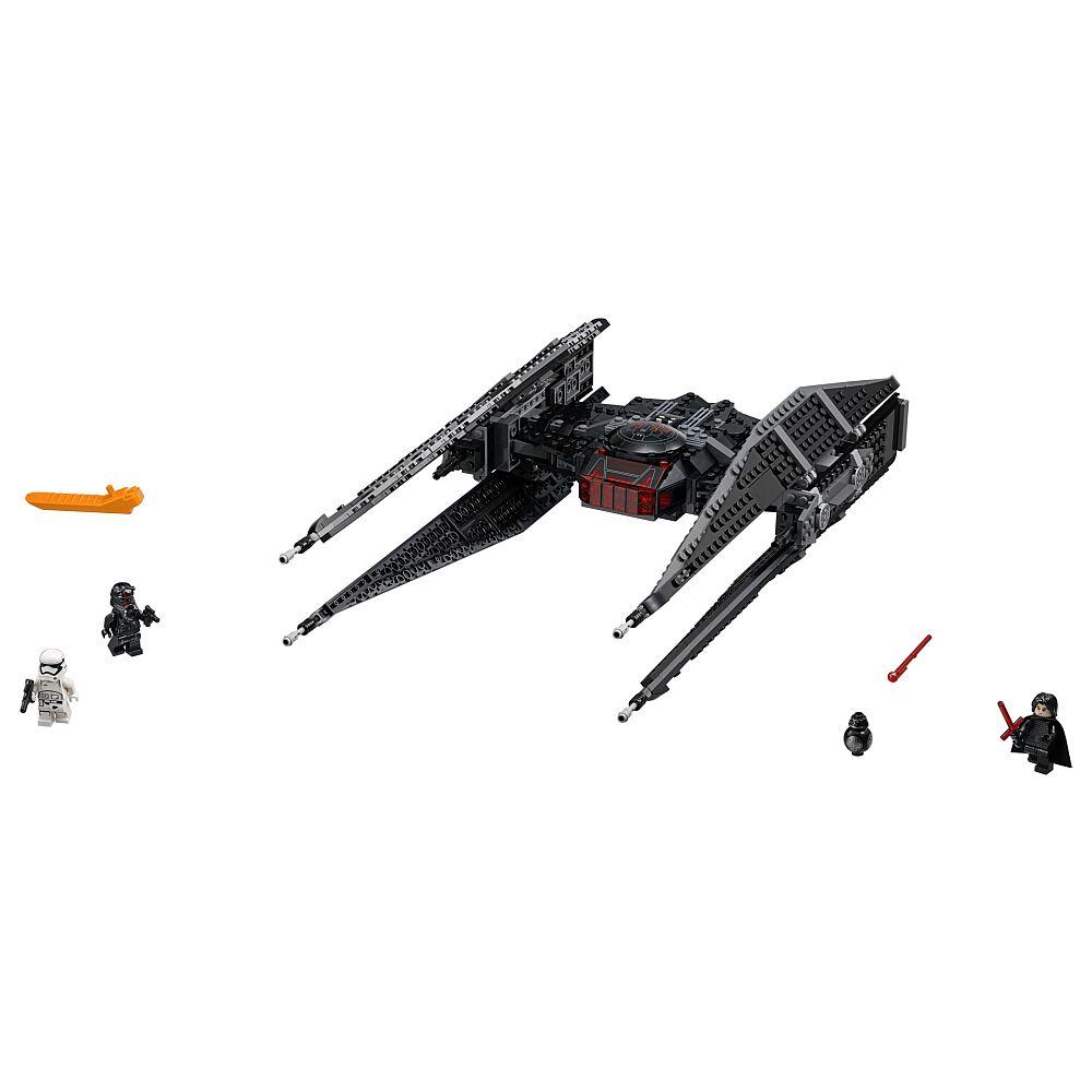 """Nouveau Disney Store Kylo Ren et TIE FIGHTER Vaisseau Star Wars The Last Jedi 11/"""" L"""