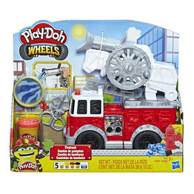 Play-Doh Wheels - Camion de pompiers