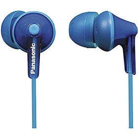 Panasonic RPHJE125 Noise Isolating Ergofit Earbuds - Blue