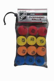 NHL - Foam Mini Hockey Replacement Balls 12-Pack