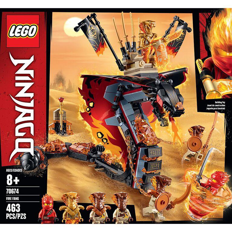 LEGO Ninjago Croc' feu 70674