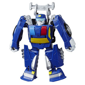 Playskool Heroes Transformers Rescue Bots Academy Chase the Police-Bot Converting Toy