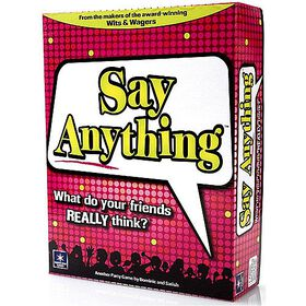 Say Anything Game - English Edition