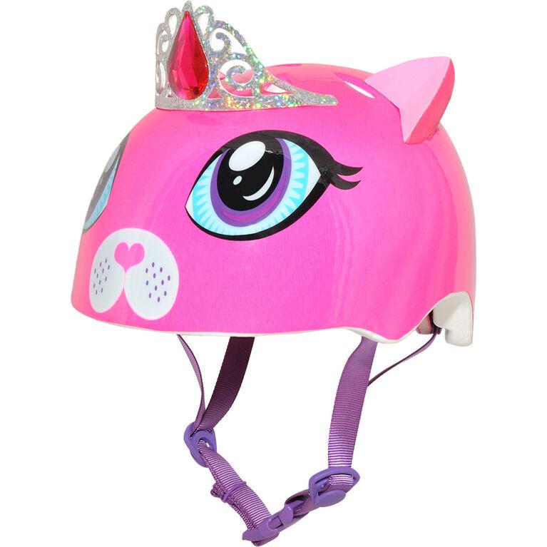 Raskullz - casque de vélo pour tout-petits 3 ans et plus Duchess Meow - rose