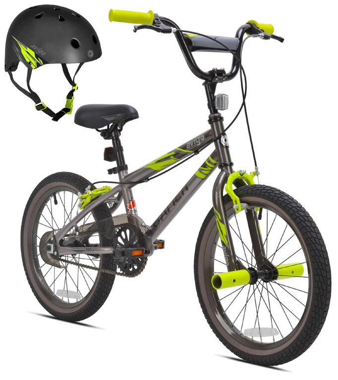 Avigo Gamer with Helmet - 18 inch Bike
