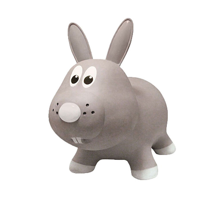 Farm Hoppers: Rabbit - Grey