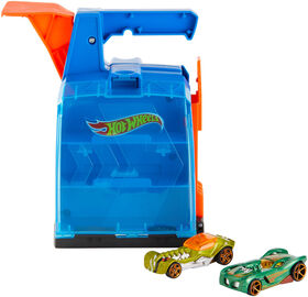 Hot Wheels - Track Builder - Mallette de lancement - Édition anglaise.