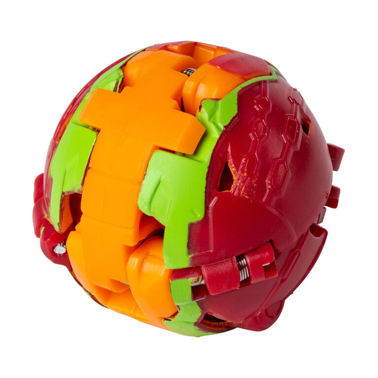 Bakugan Ultra Ball Pack, Pyrus Garganoid, 3-inch Tall Collectible Transforming Creature