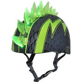 Raskullz - Child Bolt LED Multisport Helmet - Green (Fits head sizes 50 - 54 cm)
