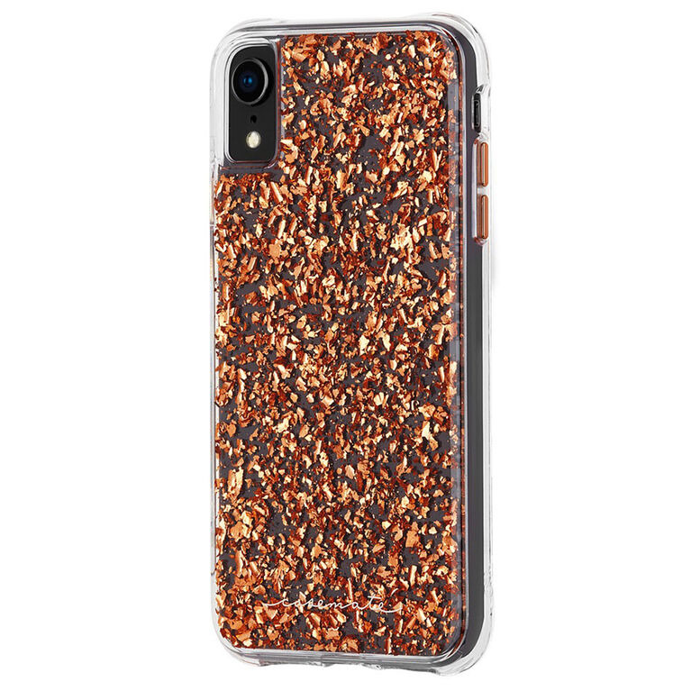 Case-Mate Karat Case iPhone XR Rose Gold