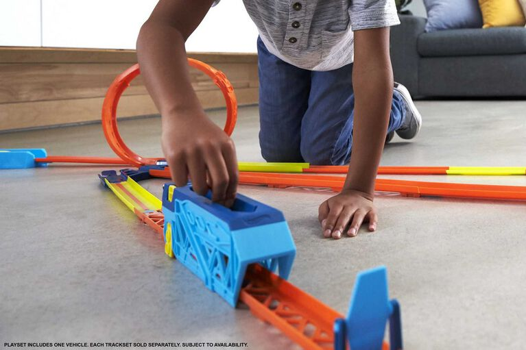 Hot Wheels - Track Builder Unlimited - Lancement Turbo