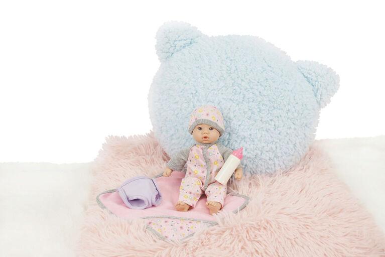 "8"" Li'L Cuddles Baby Changing Diaper Set"