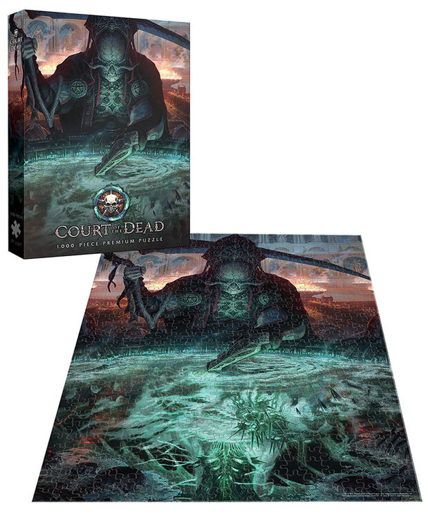 "Court of the Dead ""The Dark Shepherd's Reflection"" Puzzle De 1000 Pièces"