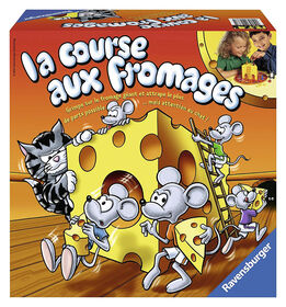 Ravensburger: The Cheese Race - French Edition