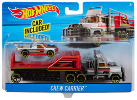 Hot Wheels -  Super Rigs - Crew Carrier - Style may vary