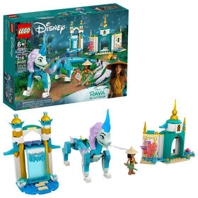 LEGO Disney Princess Raya et le dragon Sisu 43184