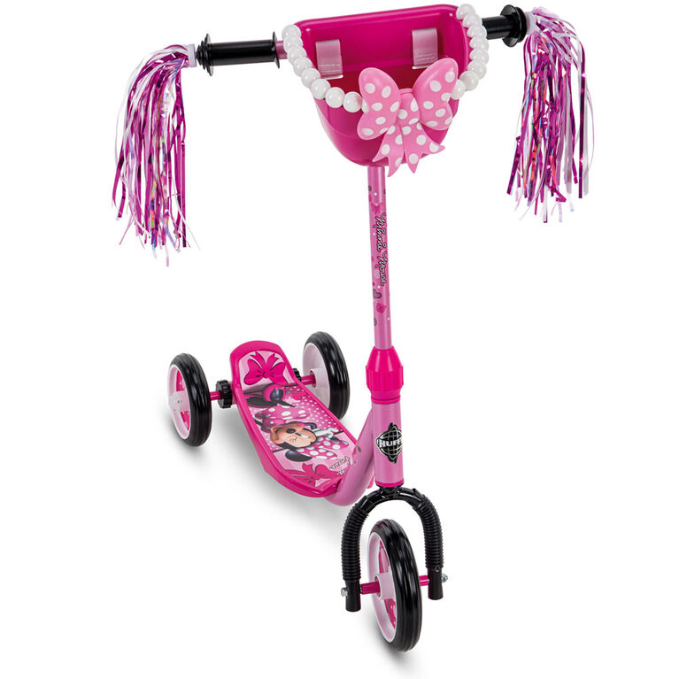 Huffy Disney Minnie Mouse - Trottinette à 3 roues