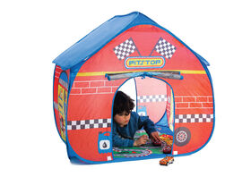 Pop-It-Up Pit Stop with Race Playmat