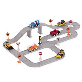 Équipe De Construction, Driven, Ensemble de construction avec véhicules miniatures