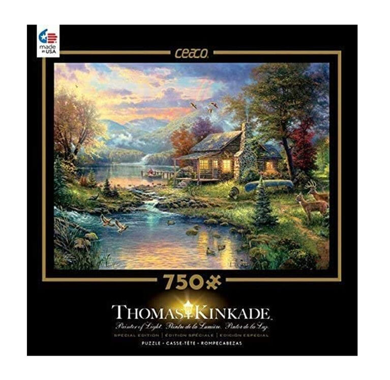 Ceaco Thomas Kinkade Special Edition 750-Piece Puzzle Nature's Paradise