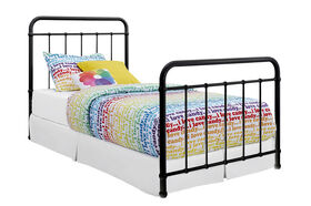DHP - Brooklyn Twin Bed, Black