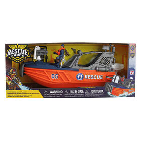 Rescue Force - Rescue Squad Boat - R Exclusive