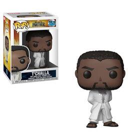 Figurine en vinyle T'Challa (White Robe) de Black Panther par Funko POP!