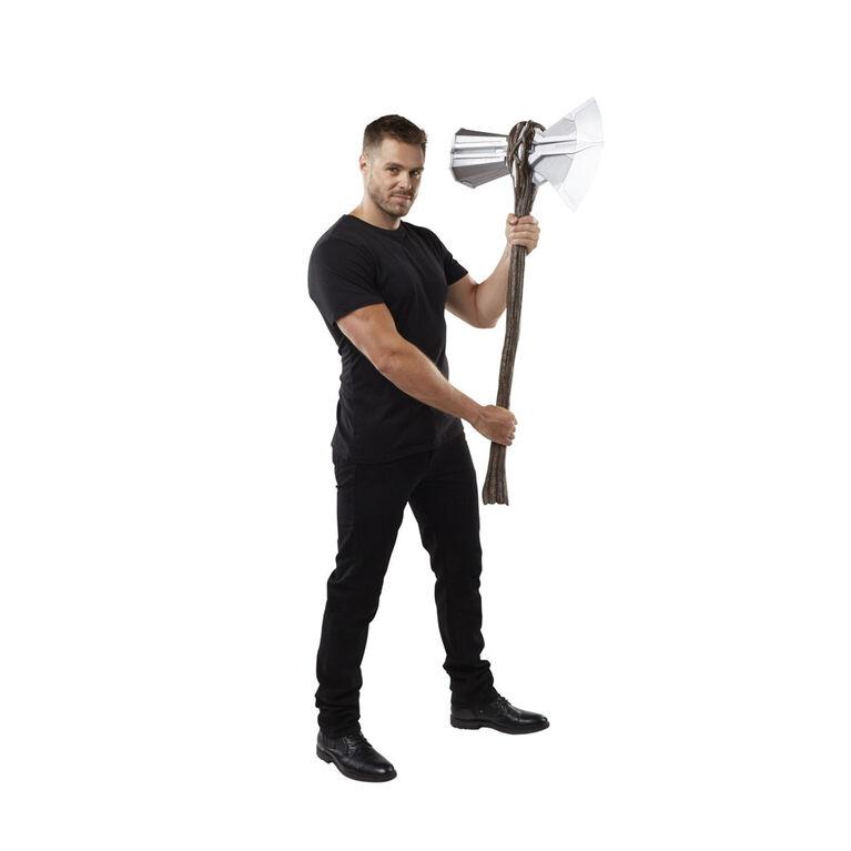 Marvel Avengers: Endgame, hache électronique Marvel's Stormbreaker de Thor, article de déguisement premium
