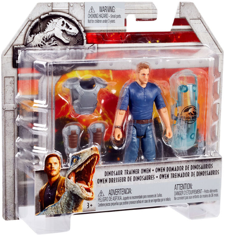 Jurassic World Basic Figure Dinosaur Trainer Owen