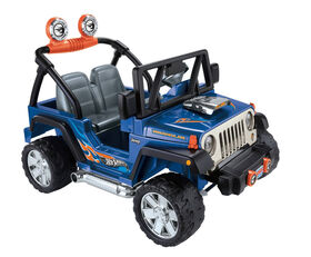 Fisher-Price - Power Wheels - Jeep Wrangler - Hot Wheels