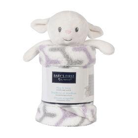 Baby's First By Nemcor Hug and Snug- Lamb