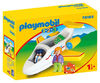 Playmobil 1.2.3. Passenger With Airplane 70185