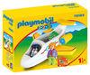 Playmobil 1.2.3. Avion avec pilote et vacancière 70185