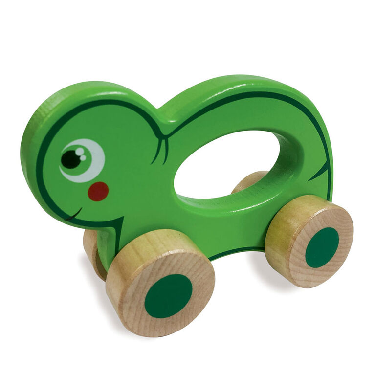 Woodlets - Animal Roll Along - Tortue - R Exclusif