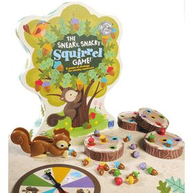 Learning Resources - Sneaky Snacky Squirrel Game - English Edition