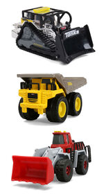 Tonka Diecast 3 Pack Construction