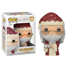 Figurine en Vinyle Holiday Dumbledore par Funko POP! Harry Potter