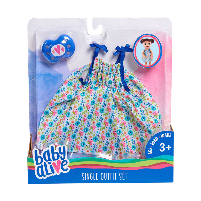 Baby Alive Single Outfit Set - Dress