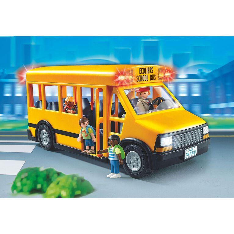 Playmobil - Autobus de transport scolaire (5680)