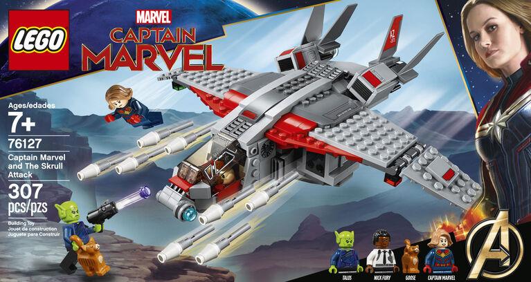 LEGO Super Heroes Capitaine Marvel et l'attaque du Skrull 76127
