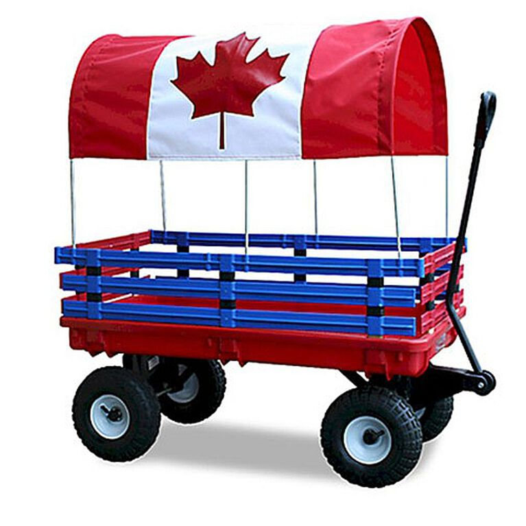 Millside - Trekker Wagon 20 inch x 38 inch with Canadian Canopy