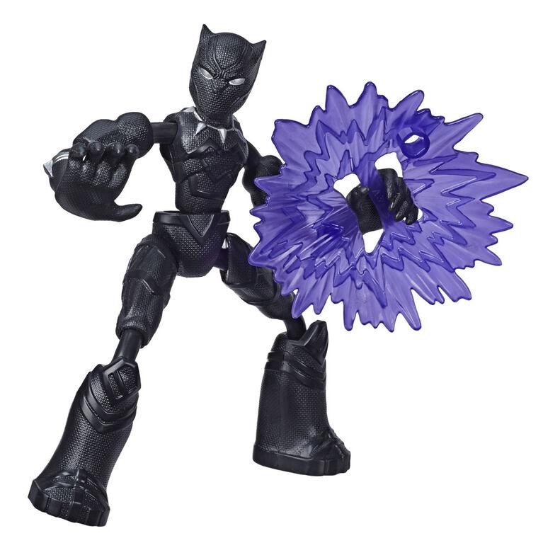 Marvel Avengers Bend and Flex  - Figurine articulée Black Panther de 15 cm flexible