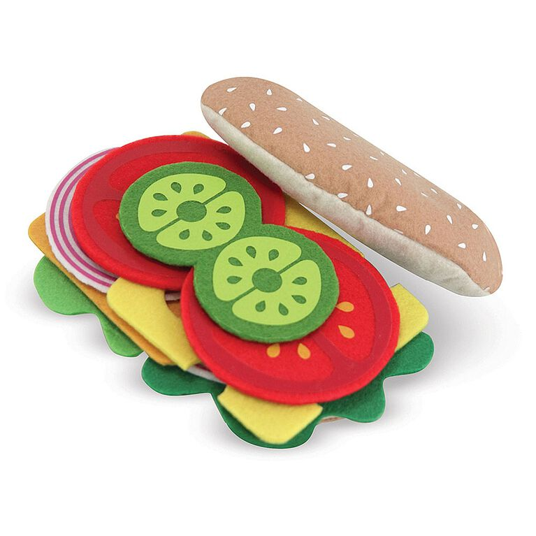 Melissa & Doug - Felt Food Sandwich Set