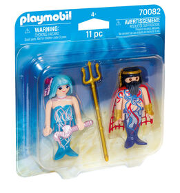 Roi des mers et sirène - Playmobil