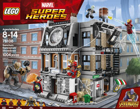 LEGO Super Heroes La confrontation dans le Saint des Saints 76108