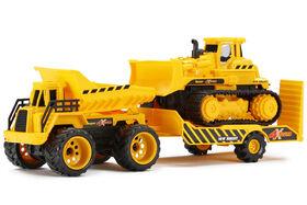 4X4 Construction - Dozer & Dumo Truck